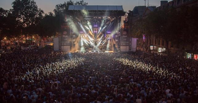 Foule - Festival Soir d'Ete by Ricard S.A Live Music - Photo: Rod Maurice