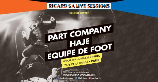 Ricard S.A Live Session @ Cafe de la Danse Nov 2016