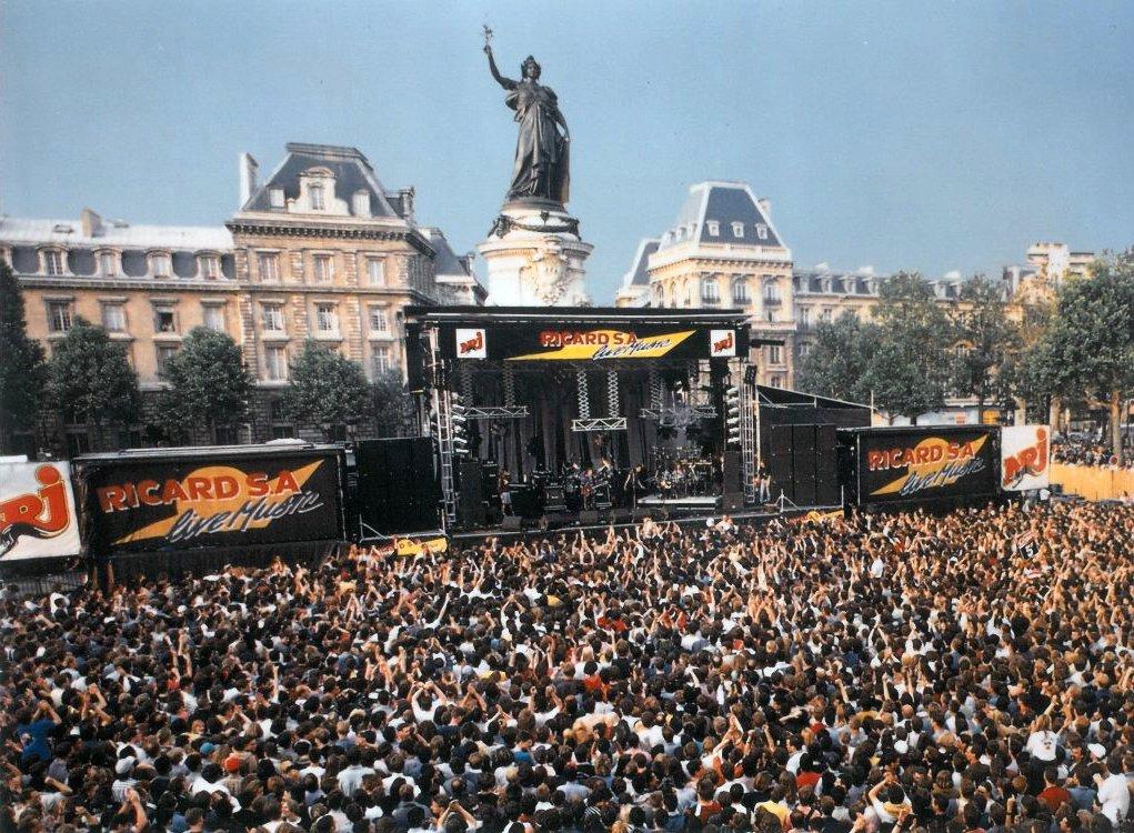 Scène-Ricard S.A Live Music 1993 - République