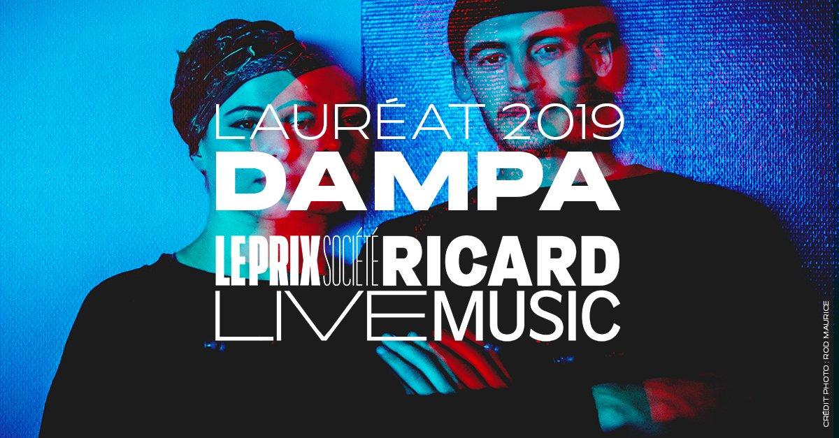 Dampa est le Lauréat du Prix 2019